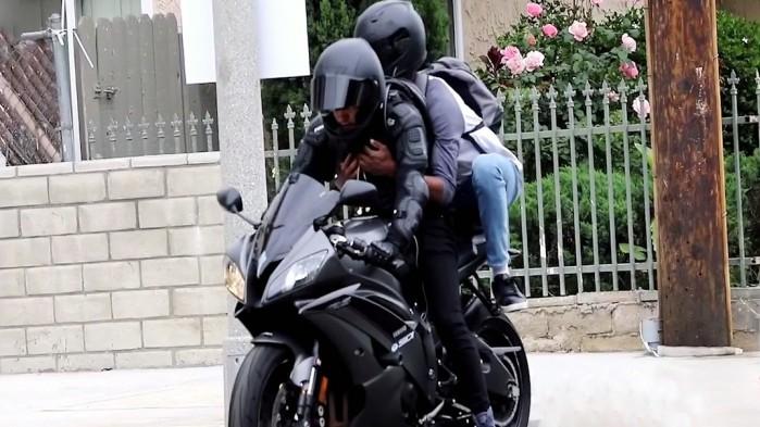 Motocyklowy Uber