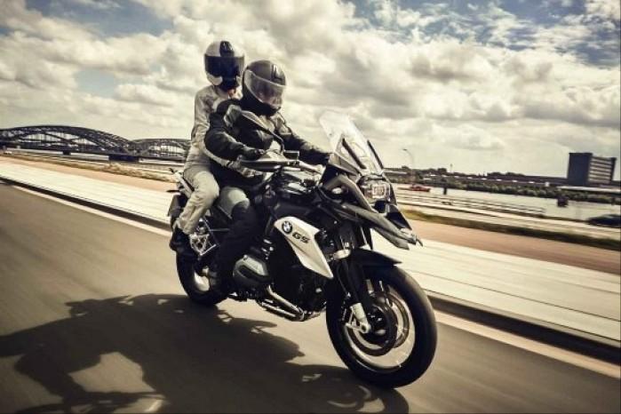 motocyklem w upal