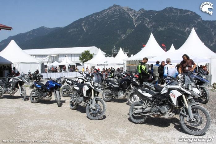 Enduro pit BMW Motorrad Days