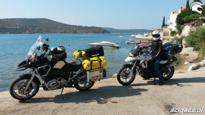 Zatoka w Slano Chorwacja