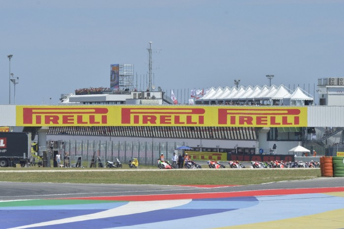 2019 worldsbk race 2 start