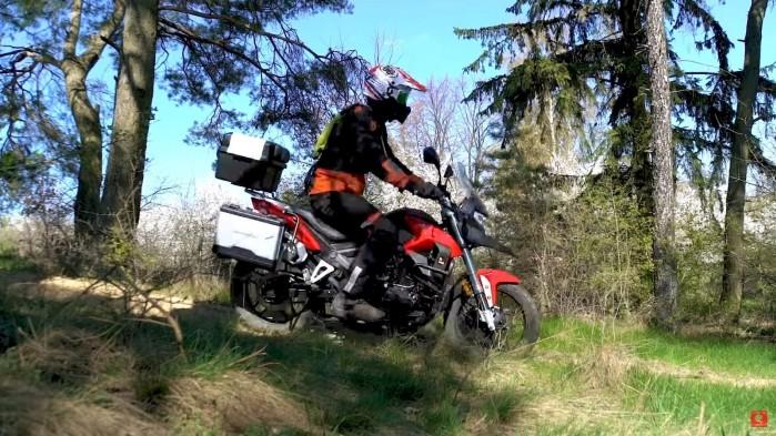 2019 06 21 15 08 59 5 Pary z Dakar na Junaku RX ONE 125 turystyka motocyklowa bez prawa jazdy A