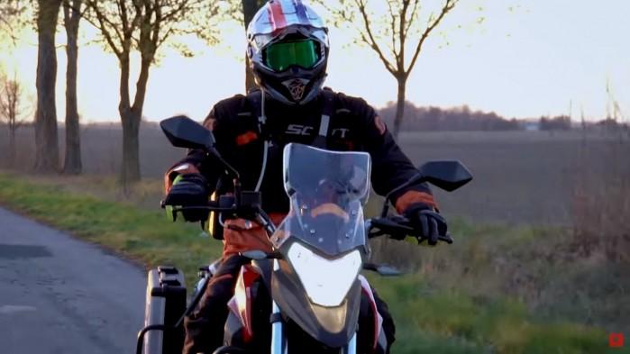 Junaku RX ONE 125 turystyka motocyklowa