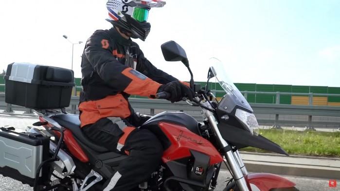 turystyka motocyklowa bez prawa jazdy A