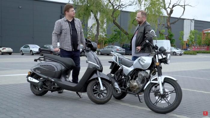Skuter czy motocykl 125 1