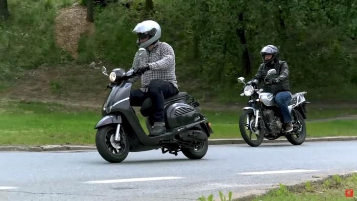 Skuter czy motocykl 125 8