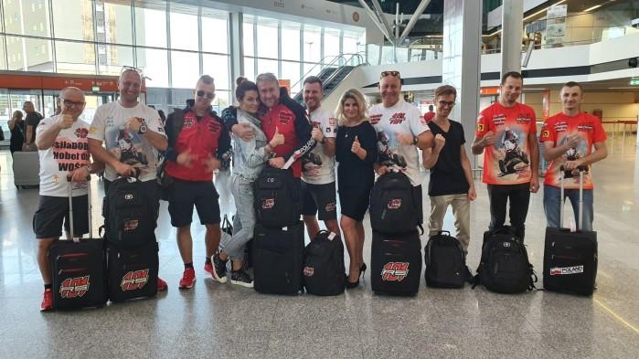 RS Team przed wylotem do Irkucka