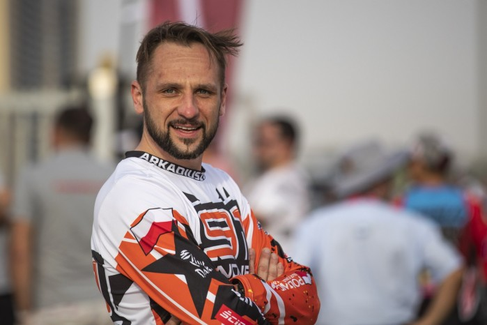Arkadiusz Lindner 2019 Silk Way Rally portet