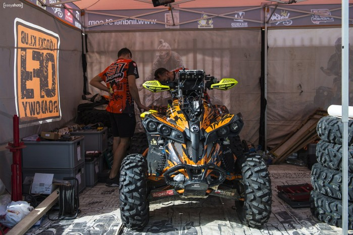 Silk Way Rally 2019 lindner team quad