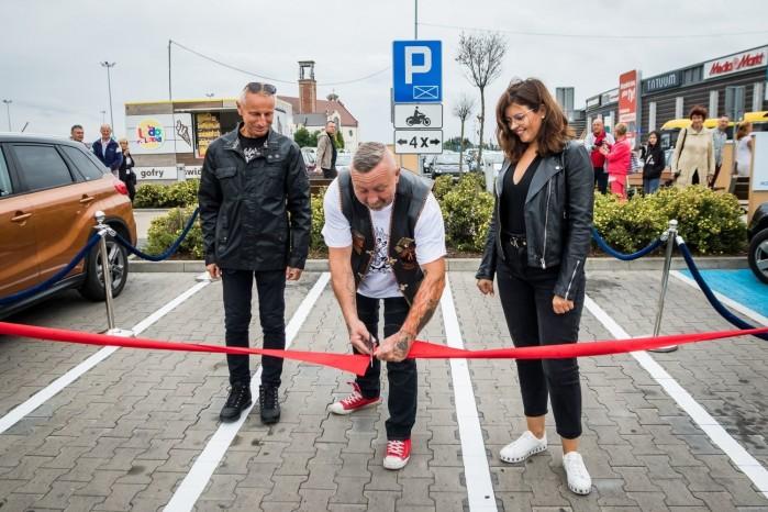 parking dla motocykli w Inowroclawiu