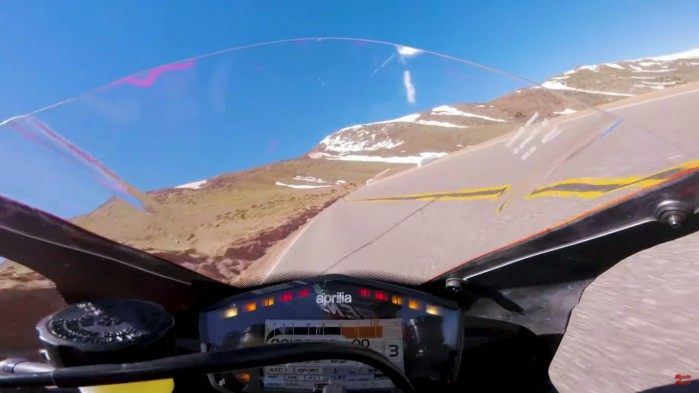 Rekordowy wjazd Renniego Scaysbrooke a na Pikes Peak