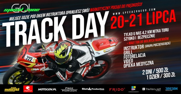 track day plakat 20lipca7