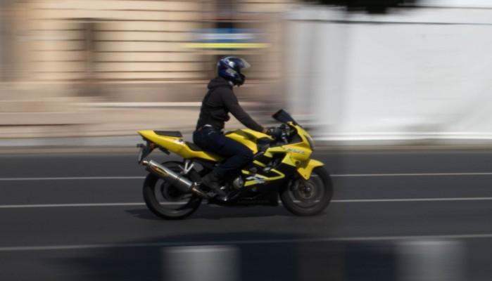 motocyklista cbr