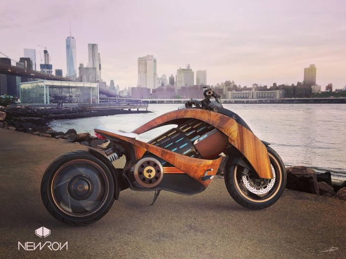 newron french electric motorcycle 1