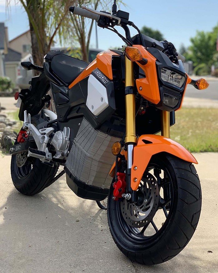 ElectroBraap electric Honda Grom 03