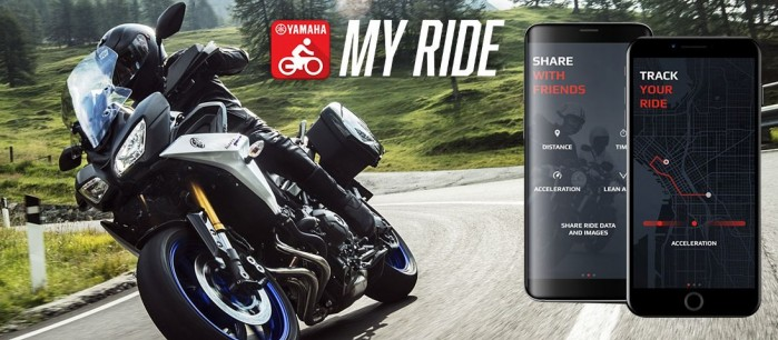 Yamaha MyRide Mobile Application