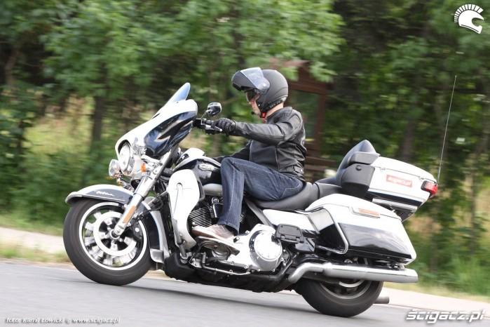 Harley Davidson Electra Glide Ultra Classic 2014 jazda
