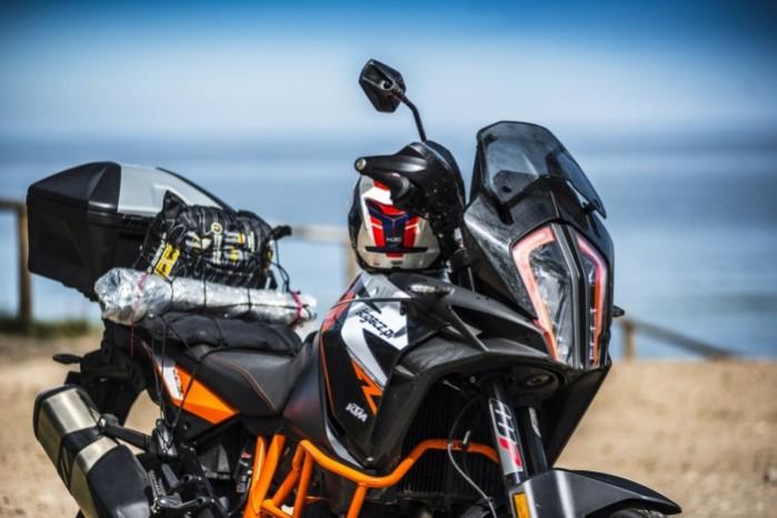 2 blisko KTM 1290 Super Adventure R test motocykla morze 4