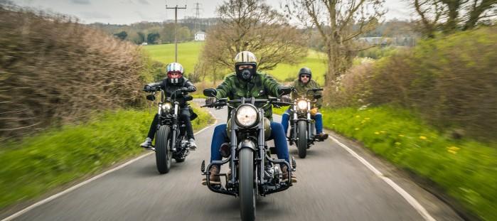 Harley Davidson jazda w grupie