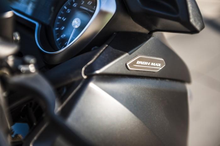 Yamaha Xmax 125 Iron logo