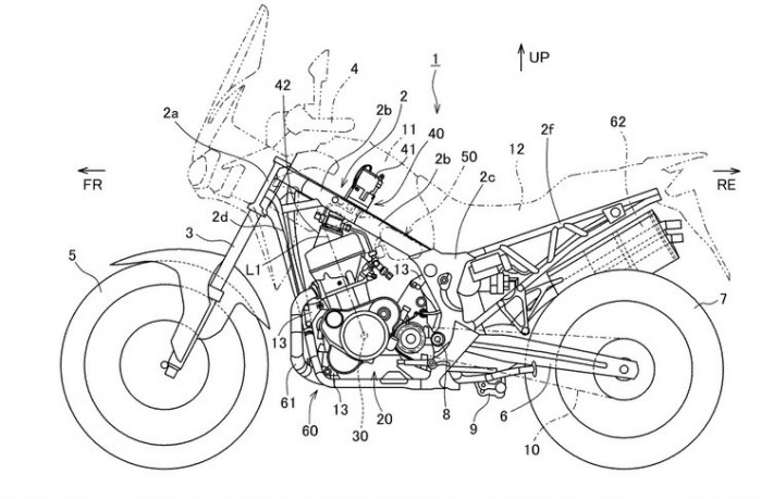 africa twin patent 1
