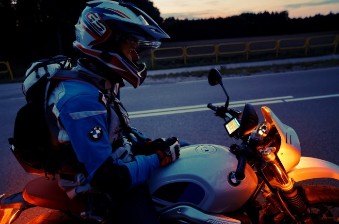 BMW R nineT w Bia owieskim Parku 23