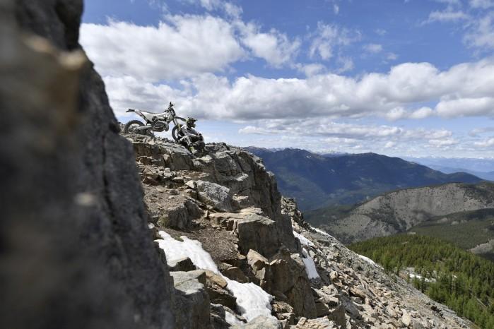 enduro na skalach