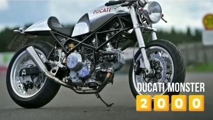 Ducati Motorcycle Evolution Monster