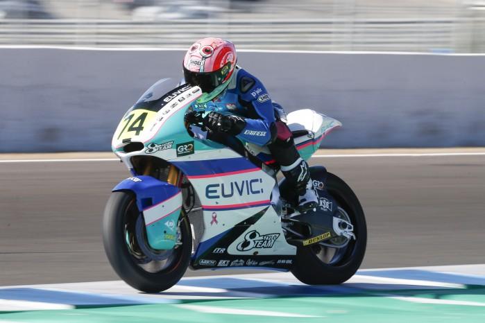 Piotr Biesiekirski Moto2 Jerez 2
