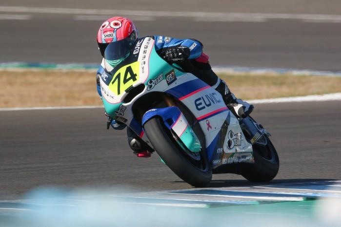 Piotr Biesiekirski Moto2 Jerez 3