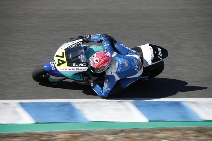Piotr Biesiekirski Moto2 Jerez 4