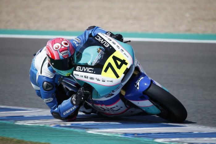 Piotr Biesiekirski Moto2 Jerez 5