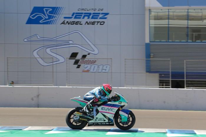 Piotr Biesiekirski Moto2 Jerez 6