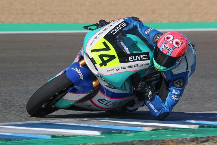 Piotr Biesiekirski Moto2 Jerez 7