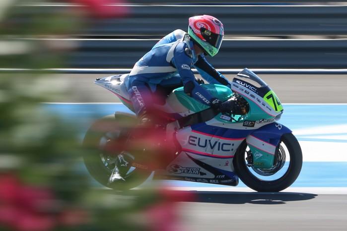 Piotr Biesiekirski Moto2 Jerez 8