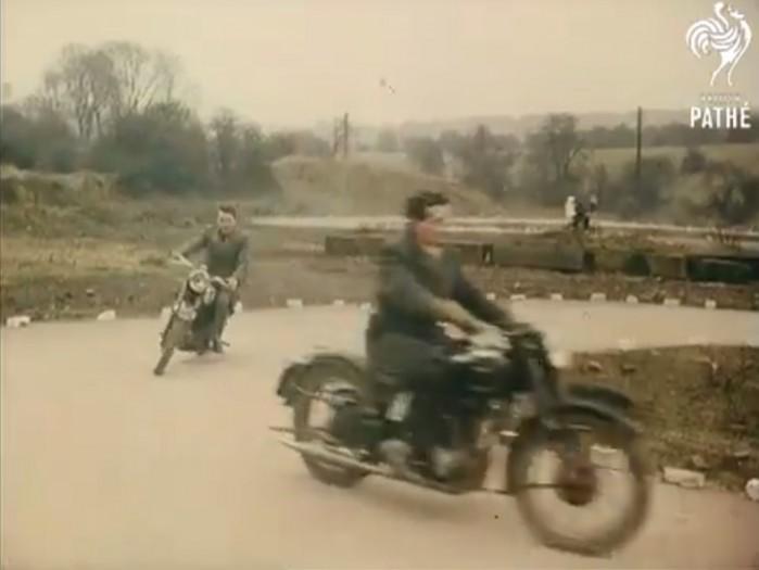 Szkola motocyklowa 1958