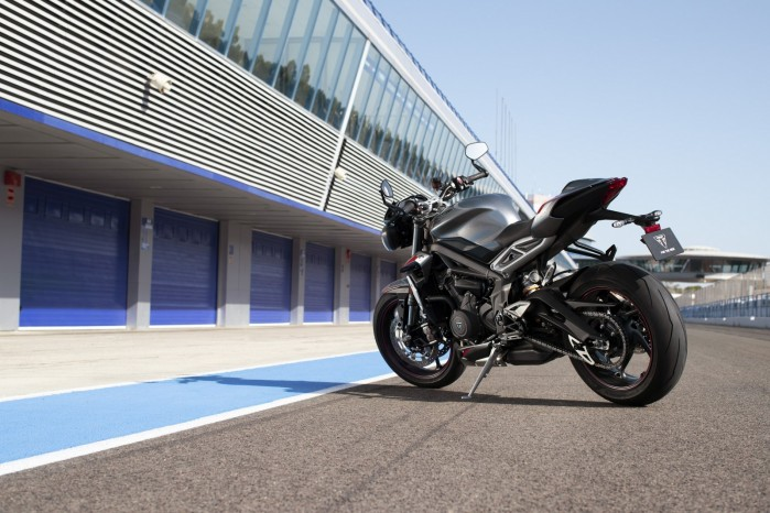 New Street Triple RS Static Location 4