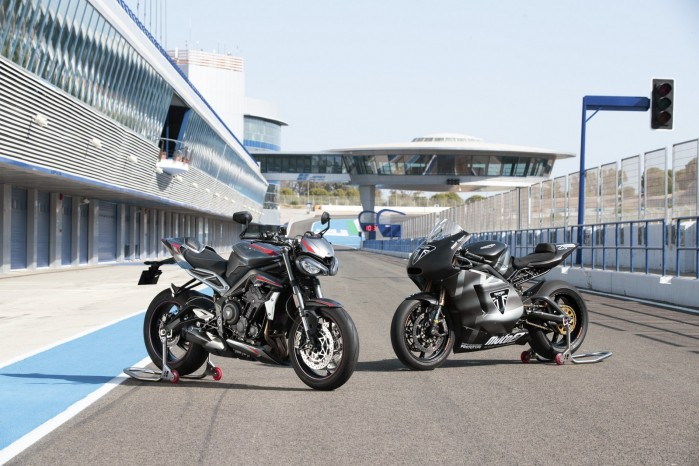 New Street Triple RS and Moto2 Prototype Static Location
