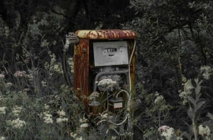stara stacja benzynowa