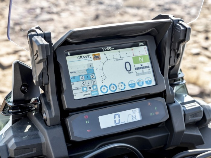 20YM Africa Twin Adventure Sports Meter