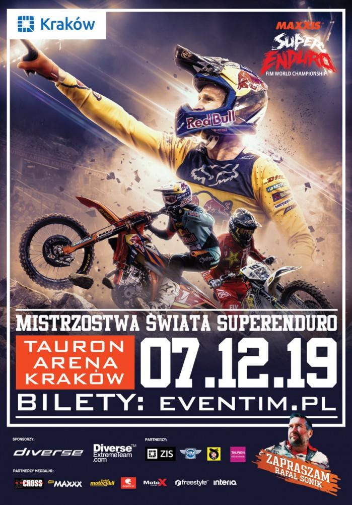 plakat MS SuperEnduro Krakow