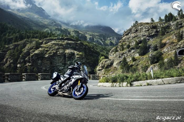 4 Yamaha Tracer 900GT 2018 akcja