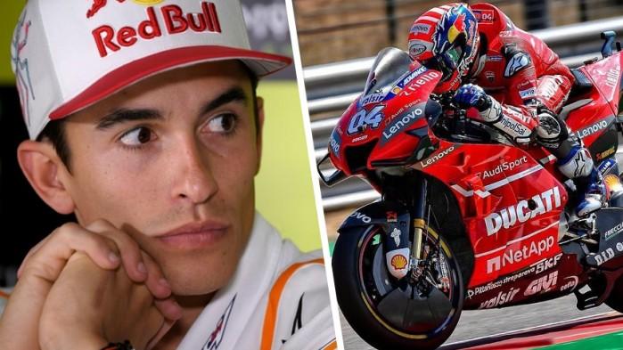 Mistrz Swiata Marc Marquez Ducati