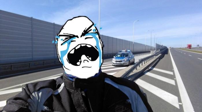 Policja meme face