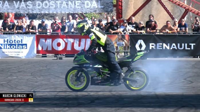 Marcin Glowacki 1st Place Stunt Riding World Championship