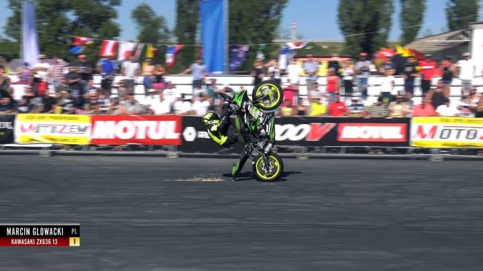 Polish Ninja 1st Place Stunt Riding World Championship