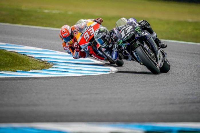 MotoGP Australia Phillip Island Maverik Vinales Marc Marquez