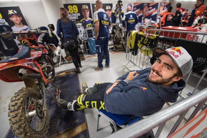 paddock Mistrzostwa Swiata SuperEnduro 2019 2020 Lodz