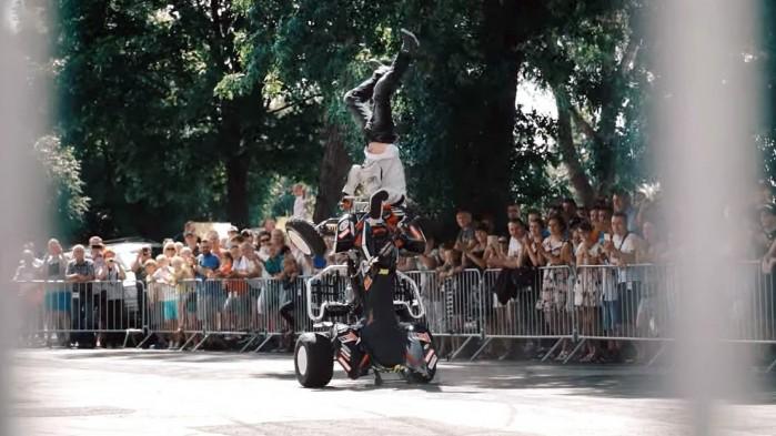 One Trick Story Leo Stunt