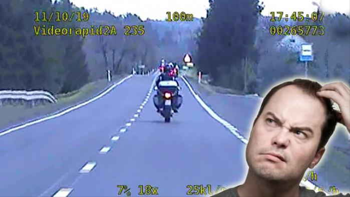 Poscig motocykl mem